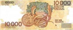 10000 Escudos PORTUGAL  1989 P.185b pr.NEUF
