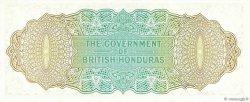 1 Dollar HONDURAS BRITANNIQUE  1972 P.28c NEUF