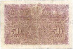 50 Cents MALAYA  1941 P.10a TB