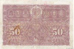 50 Cents MALAYA  1941 P.10b TB+