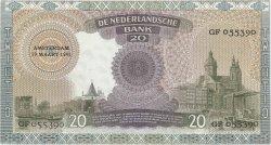 20 Gulden PAYS-BAS  1941 P.054 pr.SPL