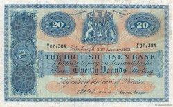 20 Pounds ÉCOSSE  1953 P.159b TTB