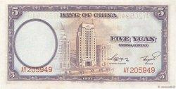 5 Yüan CHINE  1937 P.0080 pr.NEUF