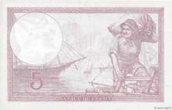5 Francs VIOLET modifié FRANCE  1939 F.04.03
