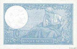 10 Francs MINERVE modifié FRANCE  1940 F.07.22 SUP