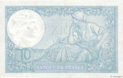 10 Francs MINERVE modifié FRANCE  1942 F.07.31 SUP