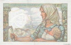 10 Francs MINEUR FRANCE  1945 F.08.14 TTB+