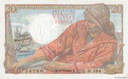 20 Francs PÊCHEUR FRANCE  1949 F.13.14 SPL