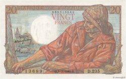 20 Francs PÊCHEUR FRANCE  1949 F.13.16 aUNC