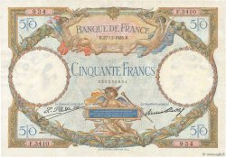 50 Francs LUC OLIVIER MERSON FRANCE  1928 F.15.02 TTB+