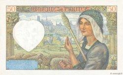 50 Francs JACQUES CŒUR FRANCE  1941 F.19.14 pr.SPL