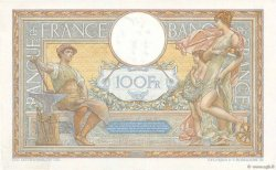 100 Francs LUC OLIVIER MERSON grands cartouches FRANCE  1928 F.24.07 XF-
