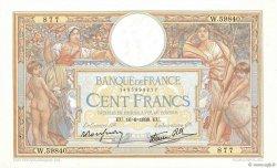 100 Francs LUC OLIVIER MERSON type modifié FRANCE  1938 F.25.23 TTB+