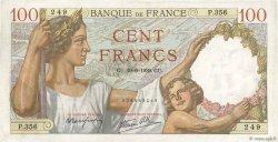 100 Francs SULLY FRANCE  1939 F.26.04 TTB