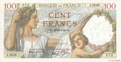 100 Francs SULLY FRANCE  1939 F.26.12 SUP