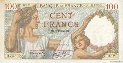 100 Francs SULLY FRANCE  1940 F.26.22 pr.SUP