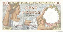 100 Francs SULLY FRANCE  1940 F.26.30 pr.NEUF