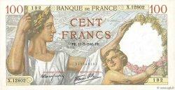 100 Francs SULLY FRANCE  1940 F.26.33 pr.SPL