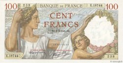 100 Francs SULLY FRANCE  1941 F.26.46 SUP+