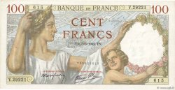 100 Francs SULLY FRANCE  1942 F.26.67 pr.SUP