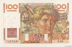 100 Francs JEUNE PAYSAN FRANCE  1946 F.28.05 pr.SPL