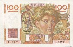 100 Francs JEUNE PAYSAN FRANCE  1948 F.28.19 SUP+