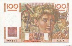 100 Francs JEUNE PAYSAN FRANCE  1948 F.28.20 NEUF