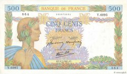 500 Francs LA PAIX FRANCE  1942 F.32.36 SUP
