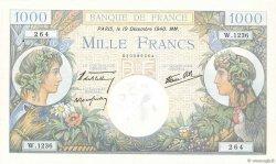 1000 Francs COMMERCE ET INDUSTRIE FRANCE  1940 F.39.03 SUP