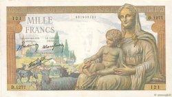 1000 Francs DÉESSE DÉMÉTER FRANCE  1942 F.40.06 pr.SPL