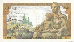 1000 Francs DÉESSE DÉMÉTER FRANCE  1942 F.40.13 SPL+