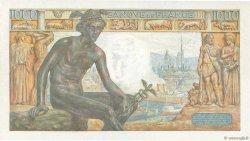1000 Francs DÉESSE DÉMÉTER FRANCE  1943 F.40.29 SPL