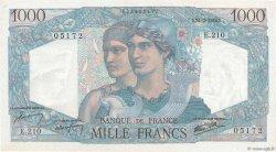 1000 Francs MINERVE ET HERCULE FRANCE  1946 F.41.11 SPL+