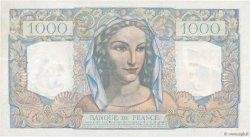 1000 Francs MINERVE ET HERCULE FRANCE  1946 F.41.13 pr.SUP