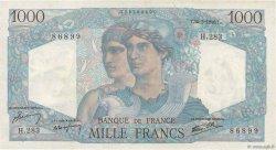 1000 Francs MINERVE ET HERCULE FRANCE  1946 F.41.14 SUP