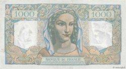 1000 Francs MINERVE ET HERCULE FRANCE  1949 F.41.29 TTB+