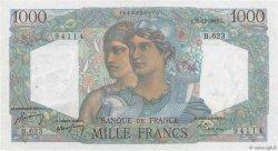 1000 Francs MINERVE ET HERCULE FRANCE  1949 F.41.30 pr.SPL