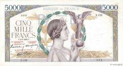 5000 Francs VICTOIRE Impression à plat FRANCE  1939 F.46.03