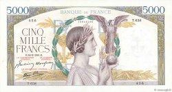 5000 Francs VICTOIRE Impression à plat FRANCE  1941 F.46.25 TTB+
