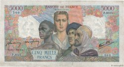 5000 Francs EMPIRE FRANÇAIS FRANCE  1947 F.47.58 pr.TTB