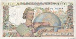 10000 Francs GÉNIE FRANÇAIS FRANCE  1946 F.50.10 TB