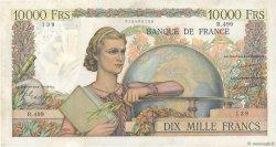 10000 Francs GÉNIE FRANÇAIS FRANCE  1949 F.50.21 TB