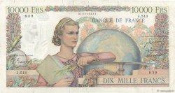 10000 Francs GÉNIE FRANÇAIS FRANCE  1949 F.50.22 pr.TB