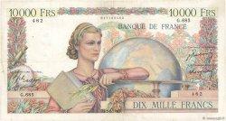 10000 Francs GÉNIE FRANÇAIS FRANCE  1950 F.50.29 pr.TTB
