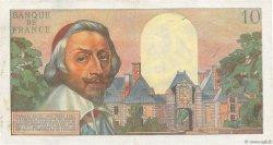 10 Nouveaux Francs RICHELIEU FRANCE  1960 F.57.11 TTB+