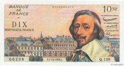 10 Nouveaux Francs RICHELIEU FRANCE  1960 F.57.12 SPL
