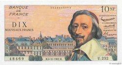 10 Nouveaux Francs RICHELIEU FRANCE  1962 F.57.21 SUP
