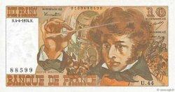 10 Francs BERLIOZ FRANCE  1974 F.63.04 NEUF