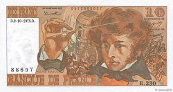 10 Francs BERLIOZ FRANCE  1975 F.63.13 SPL+