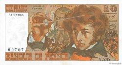 10 Francs BERLIOZ FRANCE  1976 F.63.16a pr.SPL